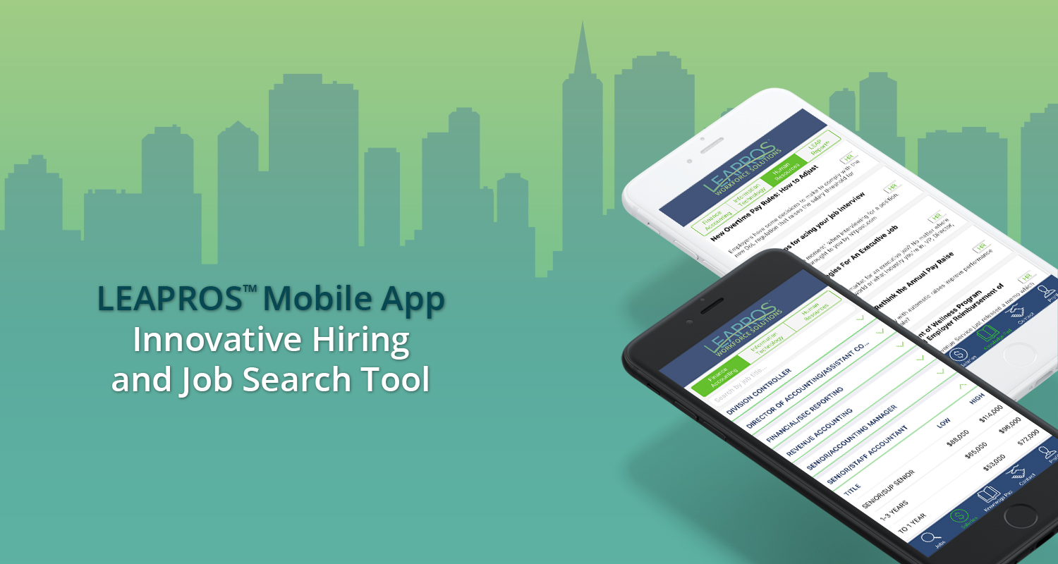 A Free Salary & Job Search Mobile App for Local Employers and Professionals