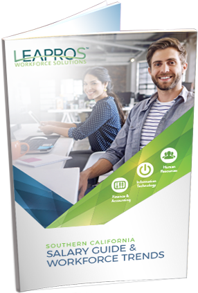 2018 Salary Guide - LEAPROS<sup>™</sup>